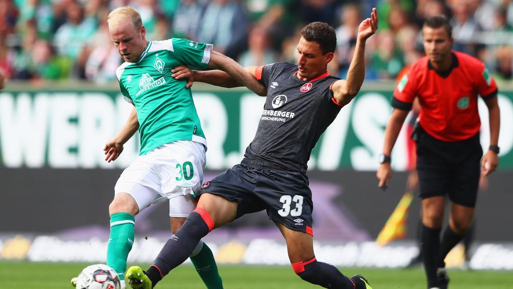 Kein Sieger im Duell zwischen Bremen und Nürnberg