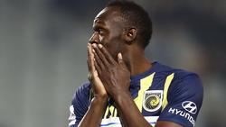 Usain Bolt trainiert derzeit nicht mit den Central Coast Mariners