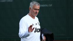 Jose Mourinho kam zu Fuß zum Champions-League-Spiel