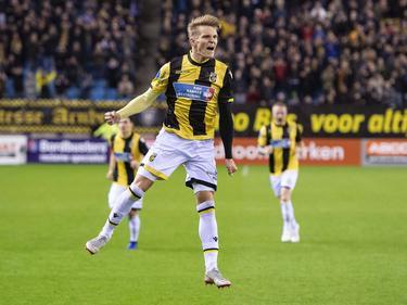 Ødegaard celebra su golazo contra el Utrecht. (Foto: Imago)