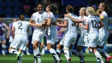 Neuseelands Fußballerinnen lösten das letzte WM-Ticket