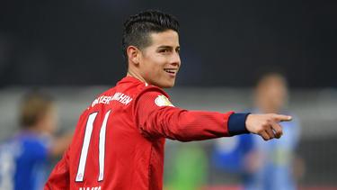 James Rodríguez spielt mindestens noch bis Saisonende für den FC Bayern