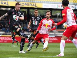 Der WAC feierte einen überraschenden Heimsieg gegen Tabellenführer Salzburg