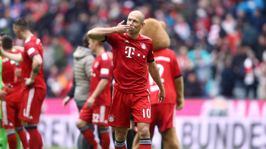 Arjen Robben schließt ein Karriereende im Sommer nicht aus