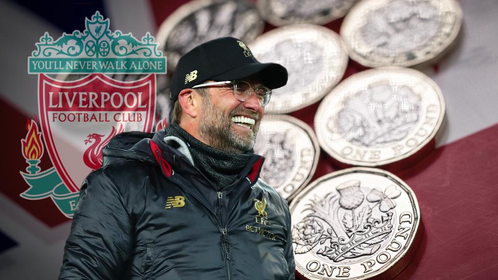Jürgen Klopp hat als Teammanager des FC Liverpool schon eine Menge Geld ausgegeben
