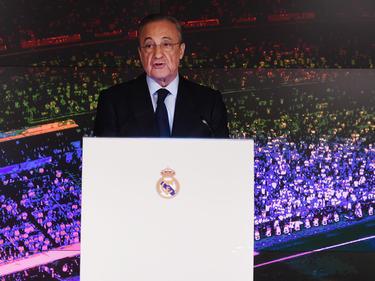 Florentino Pérez en una intervención reciente.