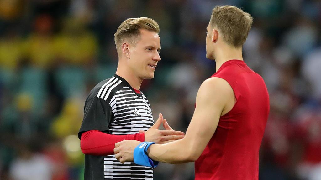Manuel Neuer und Marc-André ter Stegen wollen als Nummer eins für das DFB-Team auflaufen