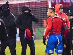 Nach dem Abstieg von Helsingborg wurde Jordan Larsson zur Zielscheibe der eigenen Fans