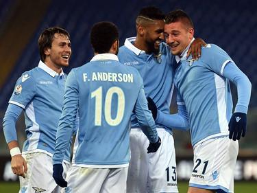Lazio feiert den Einzug ins Viertelfinale