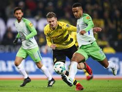 Borussia Dortmund und der VfL Wolfsburg trennten sich torlos