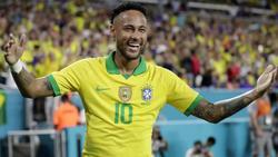 Neymar traf für seine Brasilianer