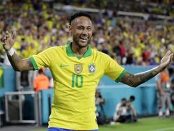 Neymar jubelt für Brasilien