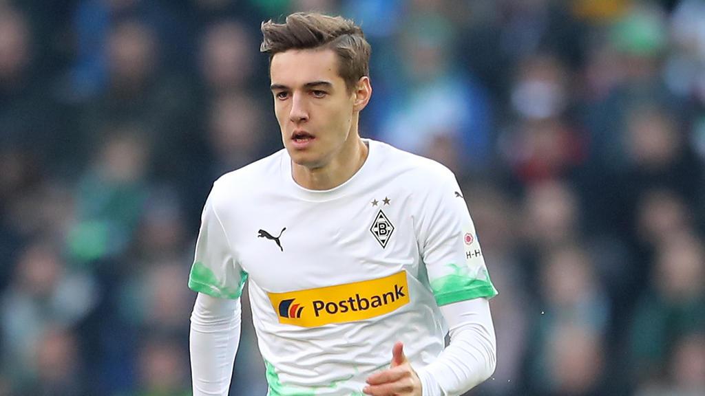 Florian Neuhaus hat seinen Vertrag in Gladbach verlängert