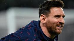 Absolvierte das PSG-Abschlusstraining vor dem ManCity-Spiel:Superstar Lionel Messi