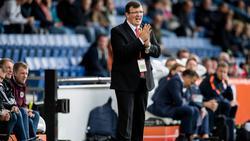 Ist neuer Nationaltrainer Lettlands: Dainis Kazakevics