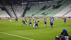 Vor leeren Rängen hat sich Juve gegen Inter durchgesetzt