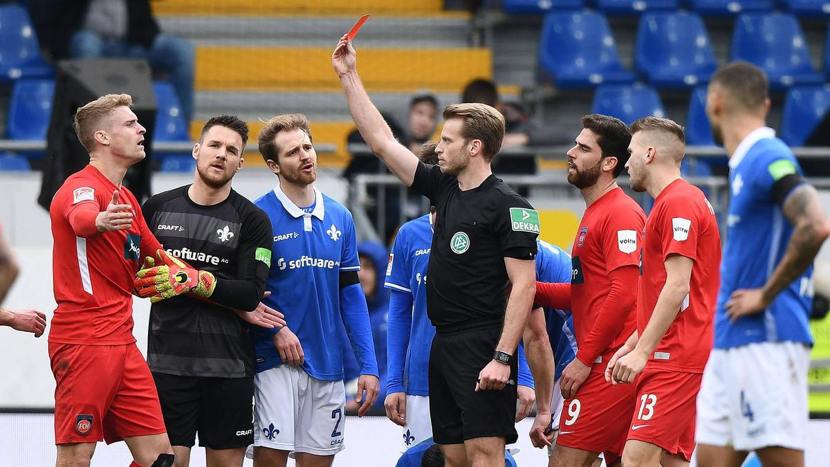 Heidenheim muss zwei Spiele auf Oliver Hüsing verzichten