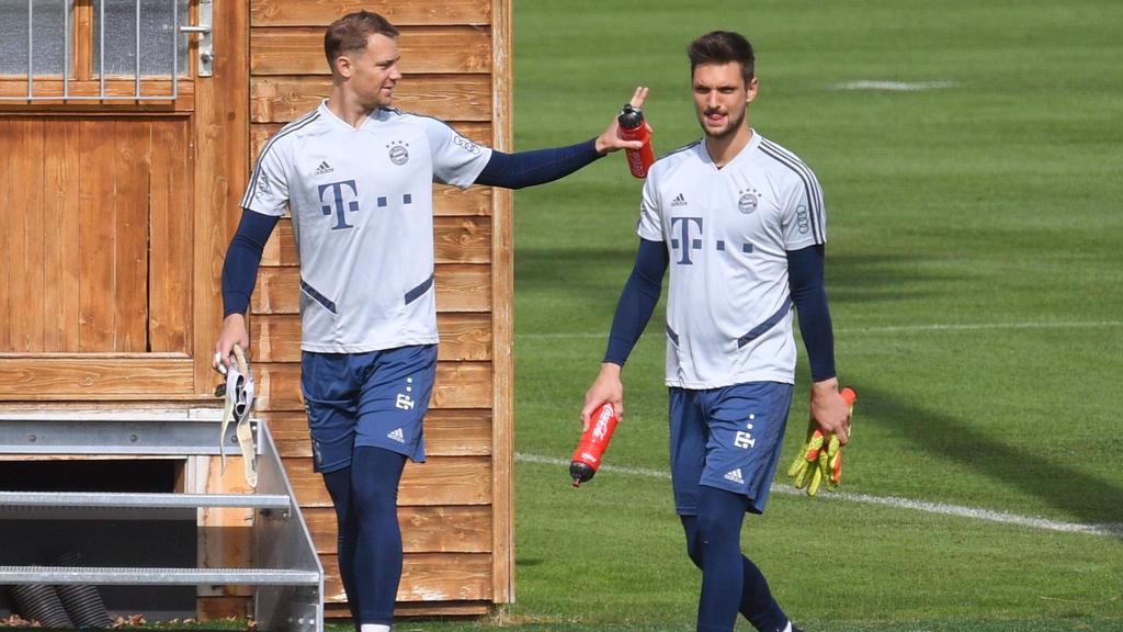 Sven Ulreich (r.) wird den FC Bayern im Sommer wohl verlassen