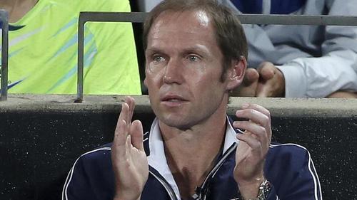 Stand 2003 bei den Australian Open im Endspiel: Rainer Schüttler