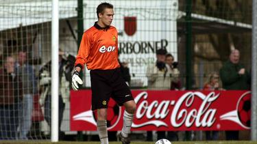 George Forsyth war 2002/03 Keeper des BVB
