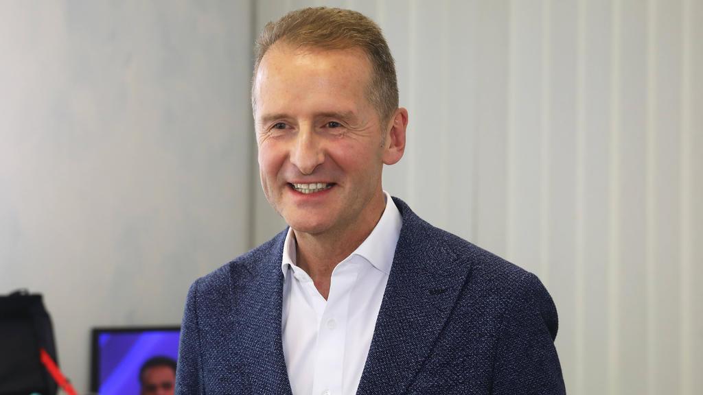 Dr. Herbert Diess, Vorstandsvorsitzender von VW