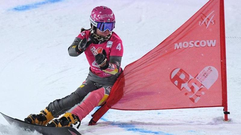War auf dem Snowboard einmal mehr nicht zu bremsen: Ramona Hofmeister