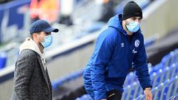 Wechselten im Winter zurück zum FC Schalke 04: Klaas-Jan Huntelaar (l.) und Sead Kolasinac