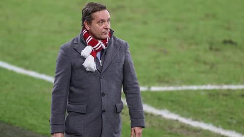 Horst Heldt wird beim FC Schalke 04 gehandelt