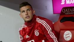 Lucas Hernández ist beim FC Bayern noch immer außen vor