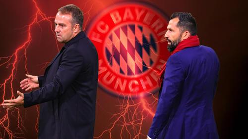 Beim FC Bayern gibt es Zoff zwischen Flick und Salihamidzic