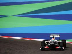 Sergio Perez im Sauber