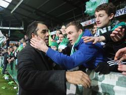 Werder-Trainer Robin Dutt fordert einen Sieg gegen Braunschweig