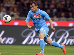 Goran Pandev, attaccante del Napoli