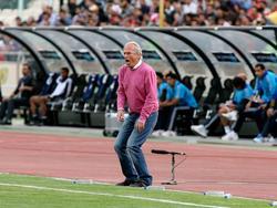 Zum dritten Mal Gala-Trainer: Mustafa Denizli