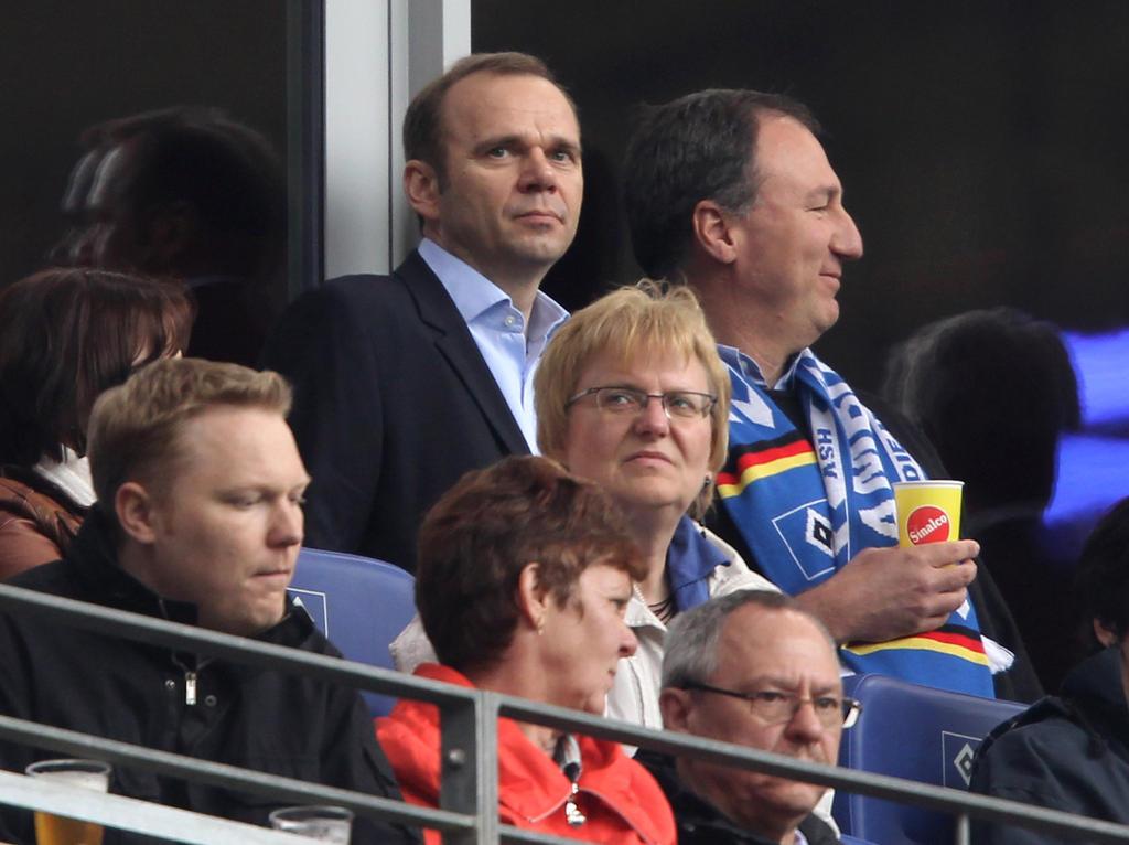 Bernd Hoffmann hofft auf seine Wahl zum HSV-Präsidenten