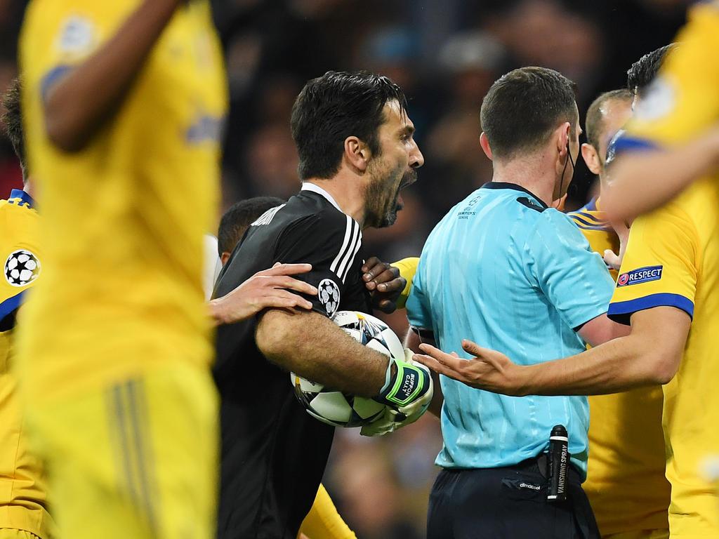 Buffons Ausraster gegen Real Madrid wird unter die Lupe genommen