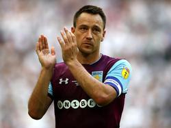 John Terry verlässt den englischen Zweitligisten Aston Villa