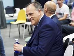 Javier Tebas, presidente de la Liga española. (Foto: Getty)