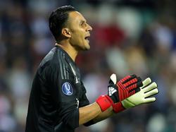 Keylor defendió los palos del Madrid en la Supercopa de Europa. (Foto: Getty)