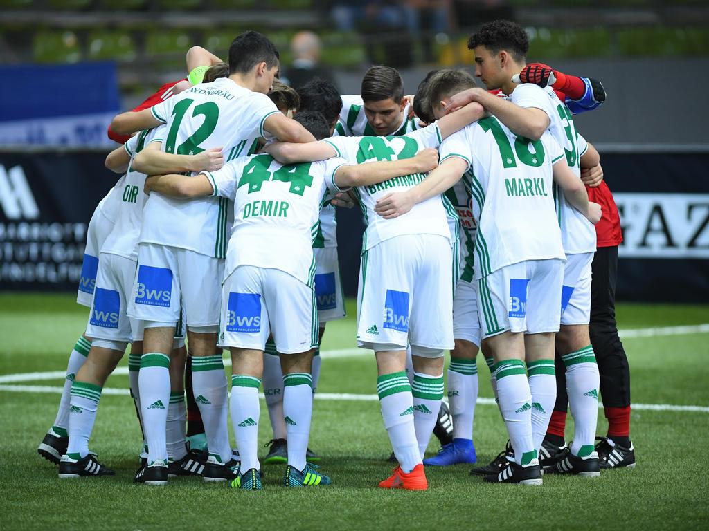 Rapids U19 drang beim Mercedes-Benz Junior Cup bis ins Finale vor. © Mercedes-Benz Junior Cup