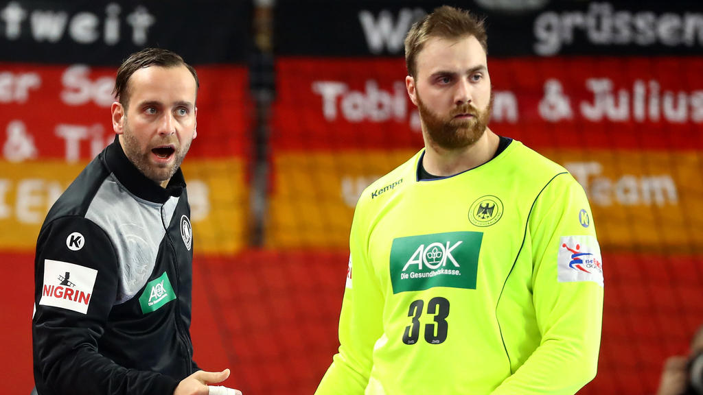 Silvio Heinevetter (l.) und Andreas Wolff gelten als große Rückhalte im deutschen Tor