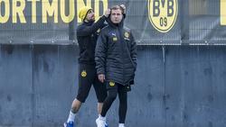 Paco Alcácer und Mario Götze sind zwei der Dortmunder Erfolgsgaranten