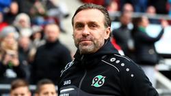 Hannovers Trainer Thomas Doll gewann mit seinem Team gegen Nürnberg