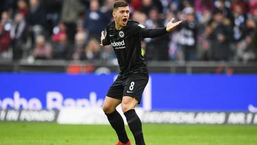 Luka Jovic steht beim FC Bayern wohl nicht mehr auf der Einkaufsliste