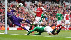 El Arsenal no pudo ganar al Brighton. (Foto: Getty)