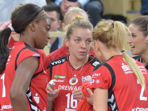 Der Dresdner SC verliert auch das zweite Gruppenspiel in der Königsklasse