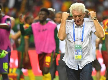Hugo Broos und sein Team setzten sich die afrikanische Fußball-Krone auf