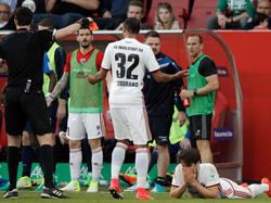 Romain Brégerie vom FC Ingolstadt muss zwei Spiele zuschauen