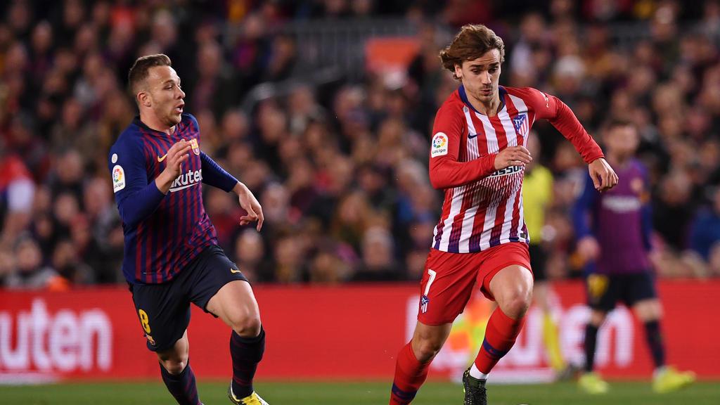Antoine Griezmann soll am Freitag einen Vertrag beim FC Barcelona unterzeichnen