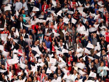 Aficionados del Ajax en una imagen de archivo.